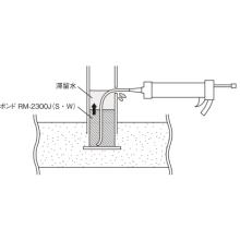 手すり足元部の補修工法『ボンド TS-RMグラウト工法』 製品画像