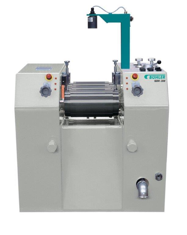 全油圧式研究用3本ロールミル SDX-300