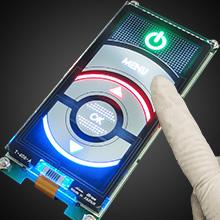 【水濡・手袋タッチOK】 ガラス製で美しい静電容量タッチスイッチ
