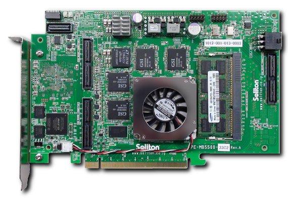 Stratix IV 画像処理ボード「EXpresso G4S」