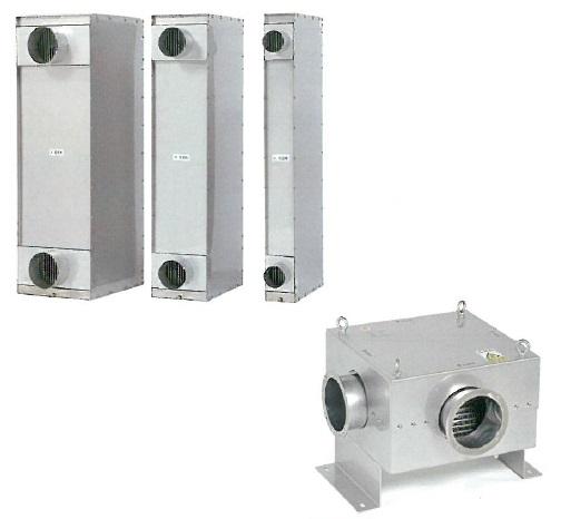 熱交換器「高効率熱交換器、クロスパイル熱交換器」