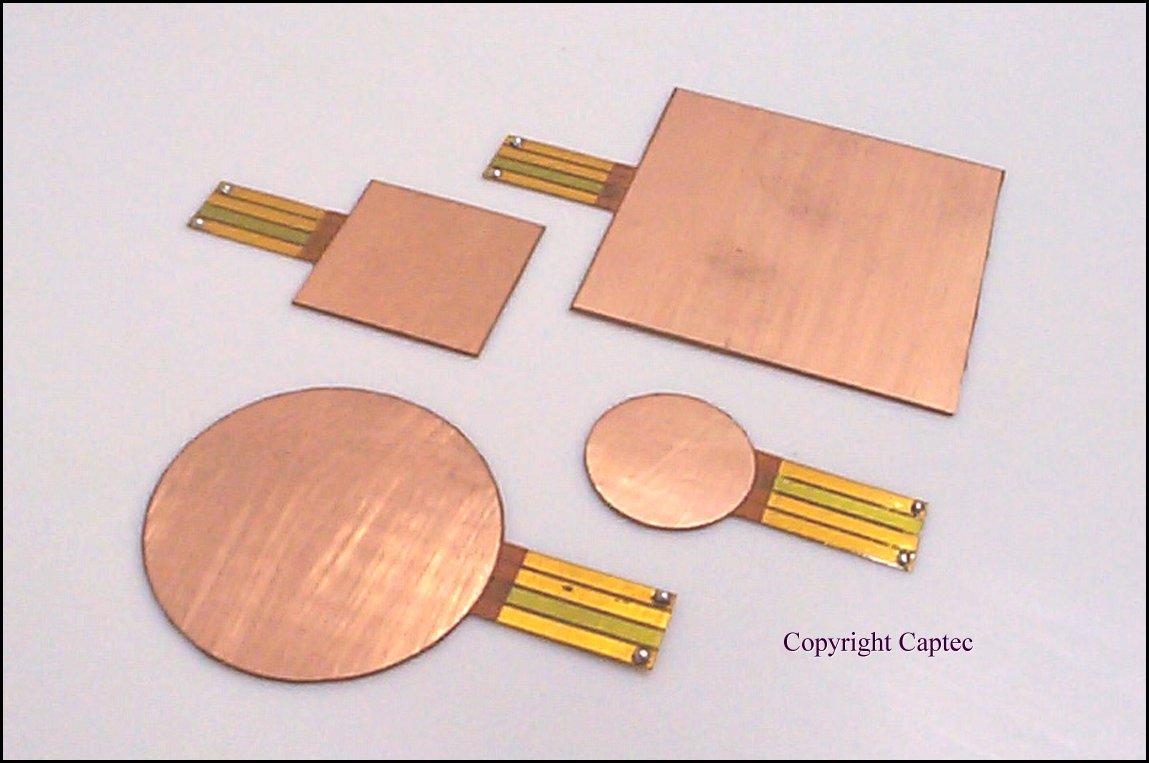 CAPTEC製熱流束センサーHFシリーズ