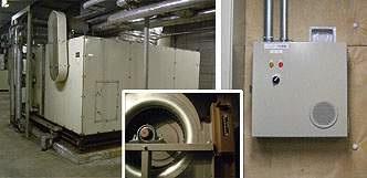 導入事例 空調機1 [宿泊施設] 空調ファンのインバータ化