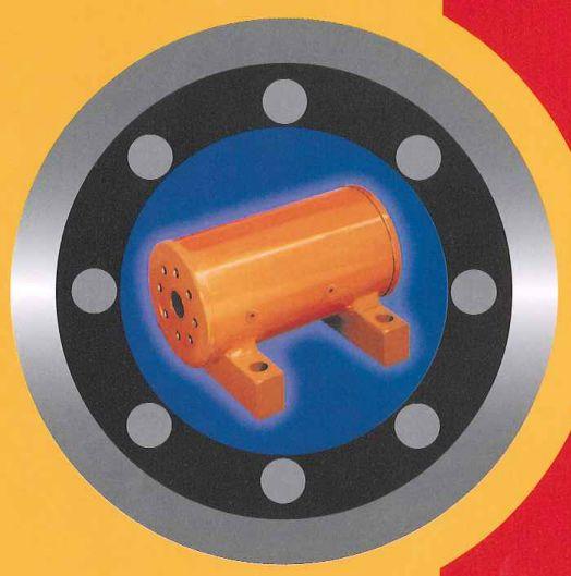 油圧ユニット『ヘリカル式油圧ロータリーアクチュエータ』