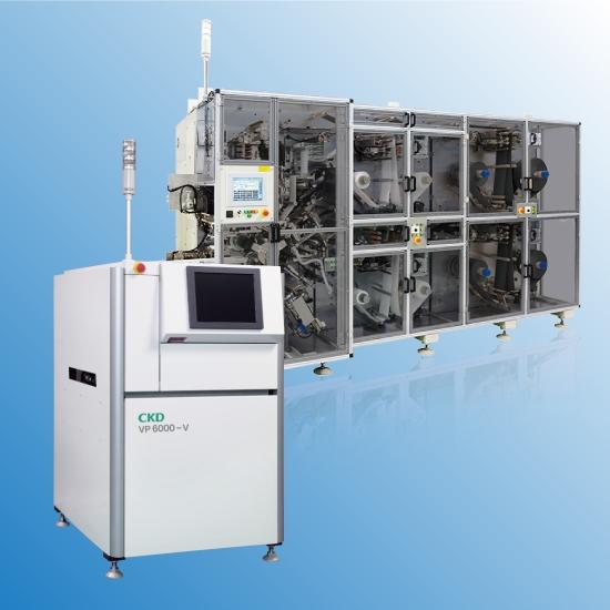産業機械 「リチウムイオン電池用巻回機/3Dはんだ印刷検査機」