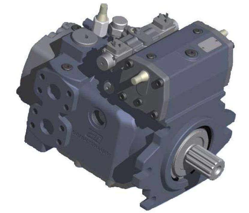 斜板式可変容量ピストンポンプ「S6CV シリーズ」