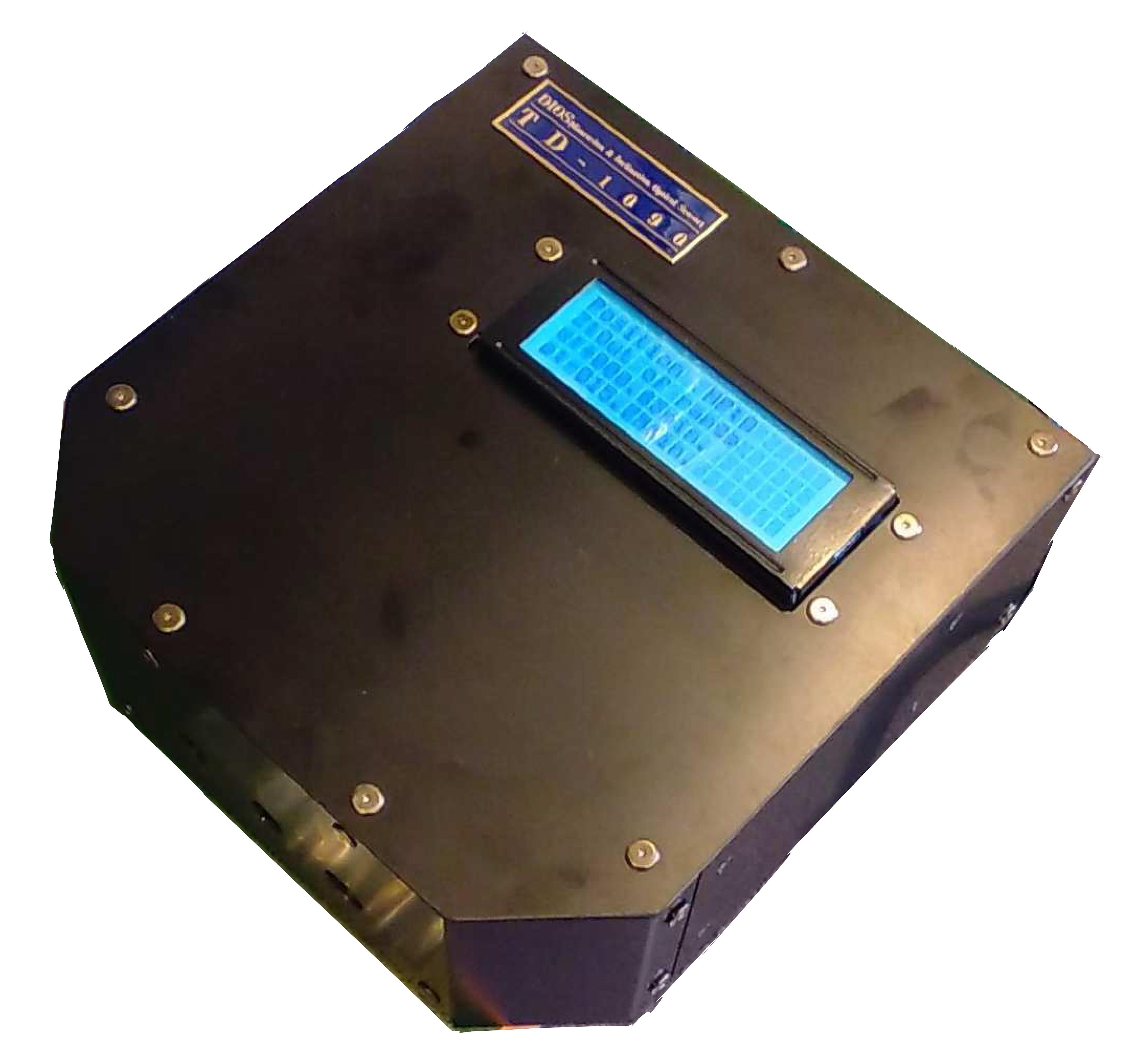 距離及び角度測定用光学センサー