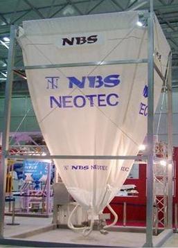 NBSサイロ(特殊布製サイロ) ※小麦粉、砂糖などの食品に最適