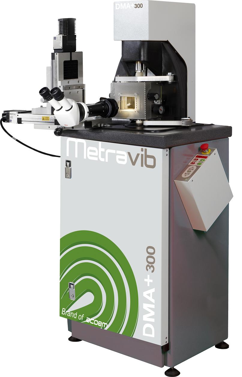 疲労試験やクラック成長観察等のオプション可能!動的粘弾性測定装置