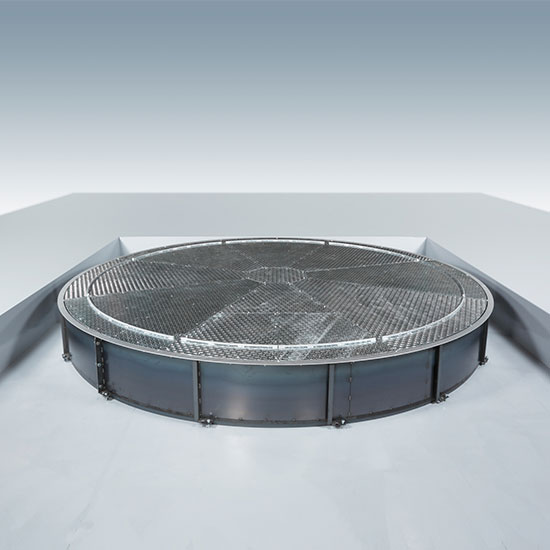 ISB駐車場用ターンテーブル:井口機工製作所