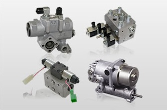 油圧機器・トランスミッション 「バルブ、複合油圧機器」