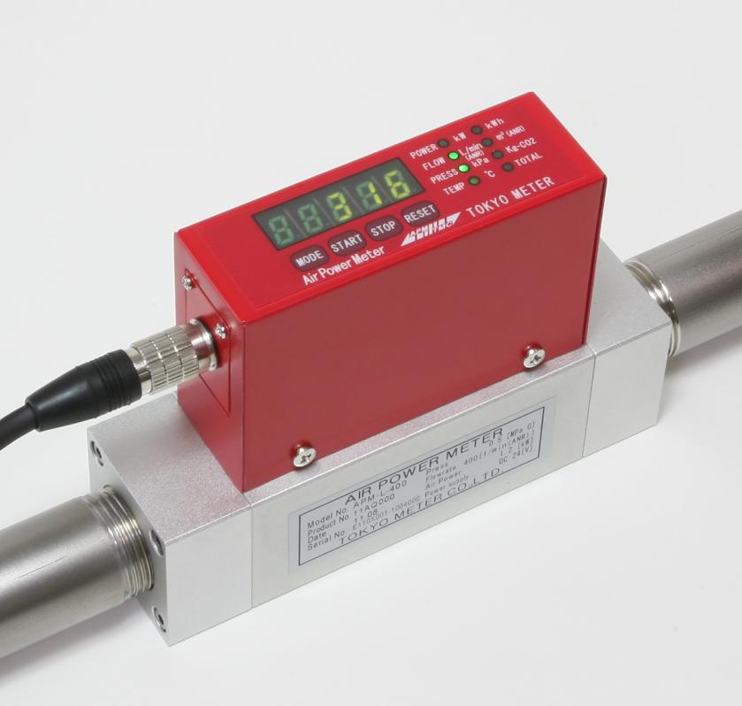 空気圧の電力計 「エアパワーメータ」【総合カタログプレゼント】