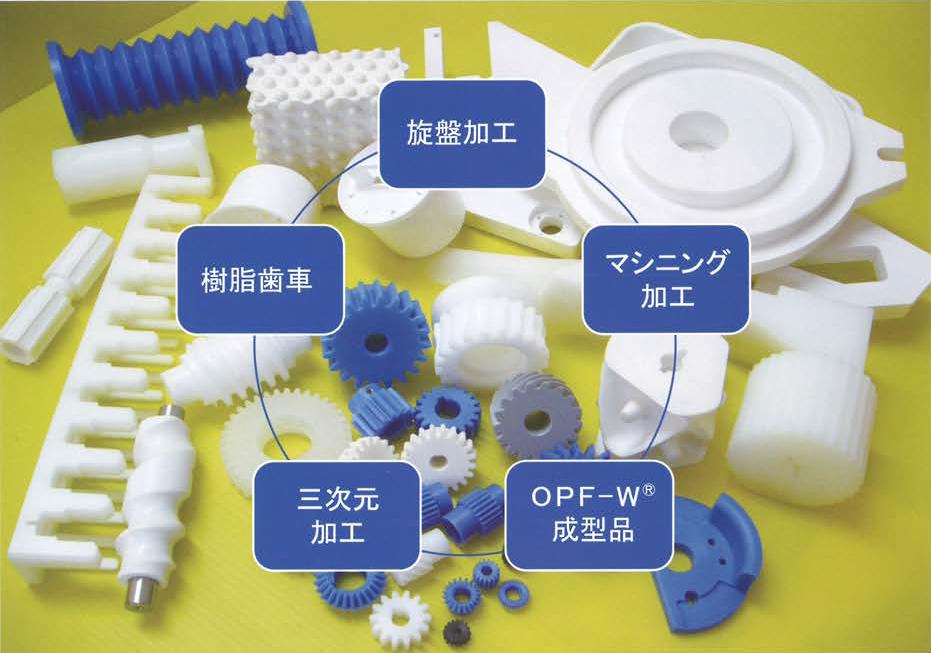 新素材「OPF-W」でエンプラ加工