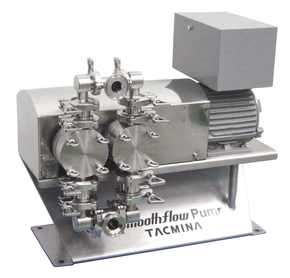 リチウムイオン電池製造用精密ダイヤフラムポンプ