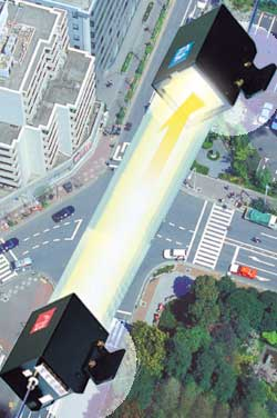 空間光映像伝送装置 「SOT-AVシリーズ/USシリーズ」