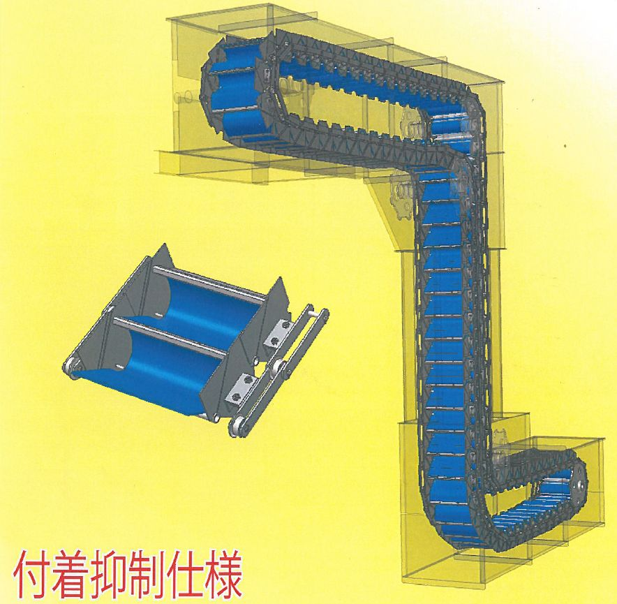 【容器式コンベヤ】つばきNAB-Rエプロベータ