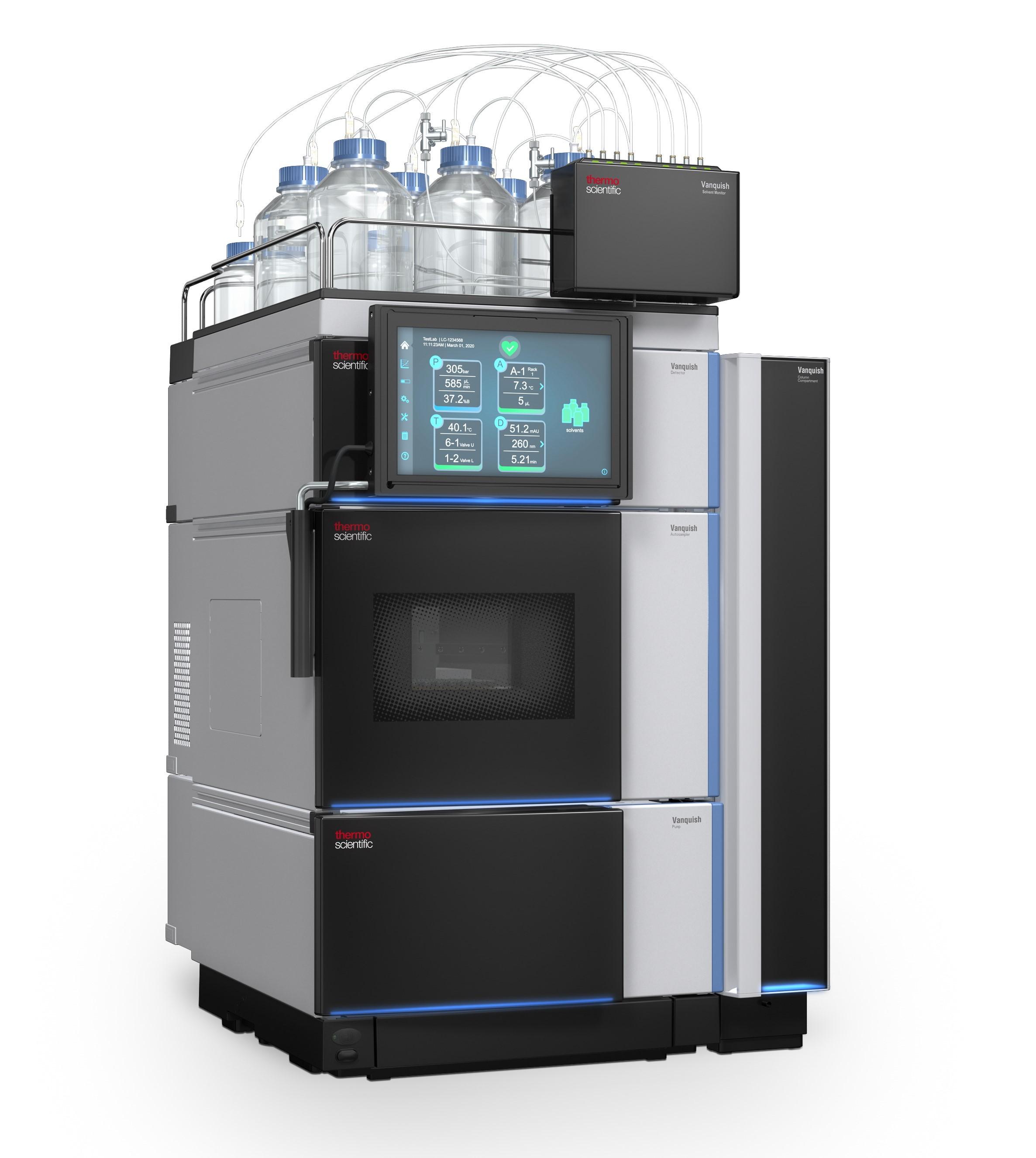 ルーチン分析向け Vanquish Core HPLC システム