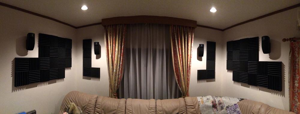 反響のない空間・無響室・防音室に使う吸音材・防音材の加工品