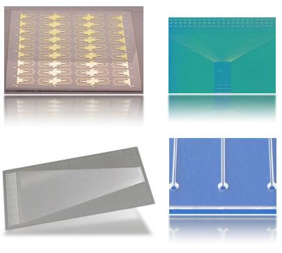 ガラスMEMS製品『バイオチップ/マイクロ化学チップ』