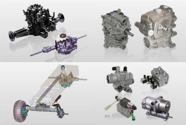 油圧機器・トランスミッション 活用事例集