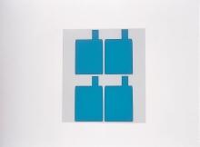 識別に最適なポリエステル基材のカラー着色粘着シート