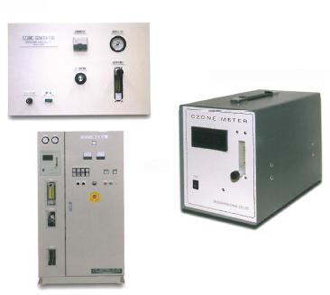 オゾン発生装置 「小型オゾン発生装置/オゾン濃度計 他」