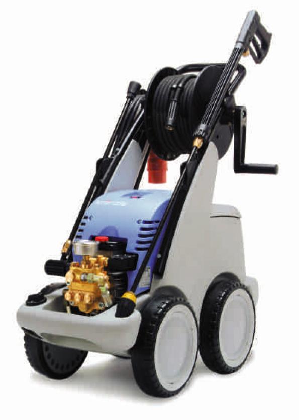 冷水高圧洗浄機Quadro799 連続運転可能、プロ仕様