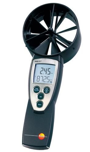 株式会社テストー    換気風量測定* ベーン式風速(風量計) testo 417