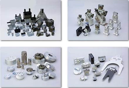 メカトロ機器 ハンド&チャック/大型&開き防止/ロボット周辺機器