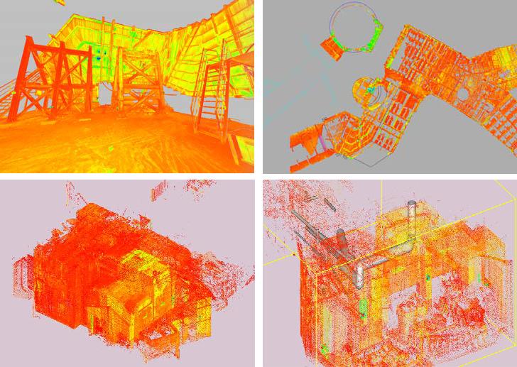 【作業事例】3Dレーザースキャナーによる計測・測量 事例