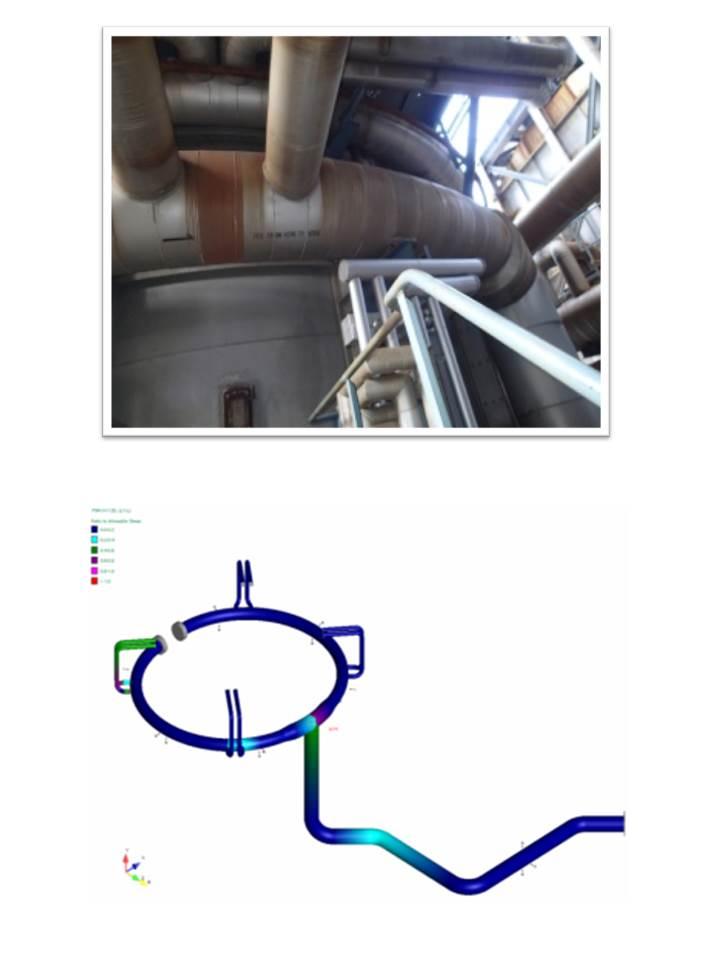 高圧ガス配管の耐震性を評価します!