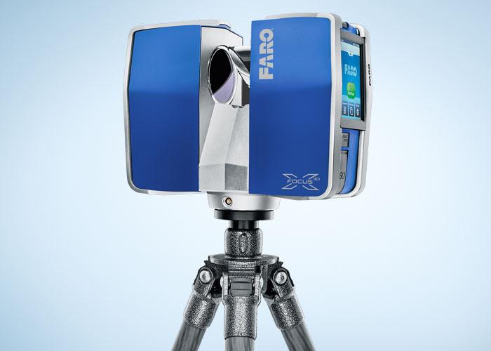 3Dレーザースキャナー FARO Focus3D レンタルします